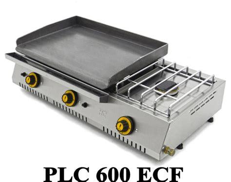 cuisiner avec une plancha plancha gaz avec réchaud fainca plc 600 réf