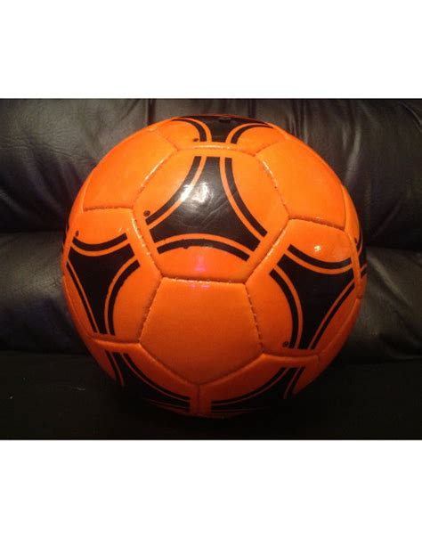 Adidas Tango River Plate World Cup 1978 Soccer Ball Orange