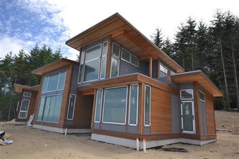 Post Modern House Plans by Galiano Houses Are Well Underway Tamlin