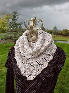 Knitted Diagonal Scarf Pattern