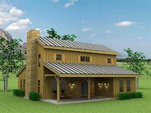 barn style exterior with galvanized siding and red windows With barn home builders texas