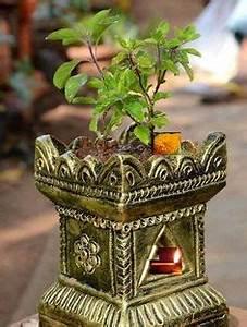 Design Of Tulsi Mandir Tulsi Pot Design Google Search Tulsi Kyaro In 2018