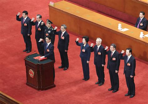 Cabinet Members by China S New Cabinet Members Endorsed Chinadaily Cn