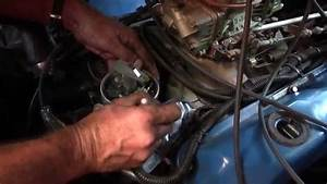 Pertronix Flame-thrower Distributor  Coil  And Wires Installation On A 1968 Galaxie 500