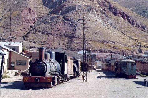 Pulacayo, locomotive, Bolivia