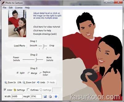 baju anak2 5 hacker mengubah foto menjadi gambar kartun