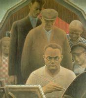 grant wood paintings artwork gallery  chronological order