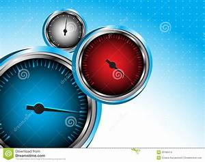 Vector Car Speedometer. Abstract Background Stock Images ...