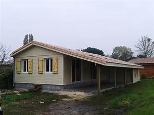 Ossature Bois Maison : maison ossature bois boiseco construction maisons a ~ Melissatoandfro.com Idées de Décoration