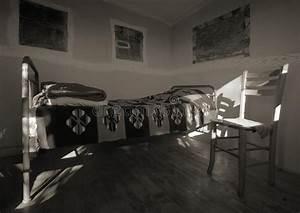 Vecchio Interiore Di Legno Della Casa Fotografia Stock