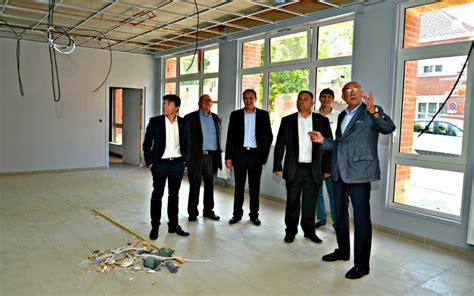 de la salle coudekerque visite de chantier du b 226 timent scolaire du boulevard vauban de david bailleul
