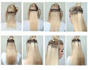 Clip In Hair Extension Placement Guide