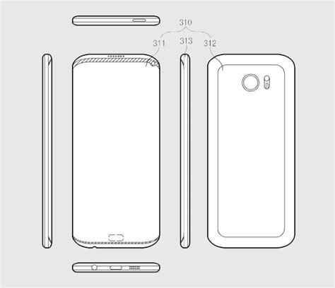 samsung patent application hints to a galaxy smartphone