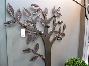 Porte Manteau Mural Arbre : arbre porte manteaux mural fer forg ~ Preciouscoupons.com Idées de Décoration