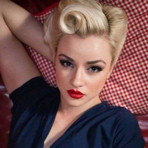 How To Do 50s Hairstyles For Hair by 50s Hairstyles For Hair The Best Hairstyles
