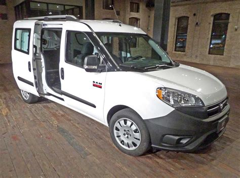 2015 Ram ProMaster City: Expanding the Commercial Van