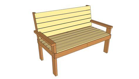 parkbenchplans park bench plans  outdoor plans
