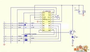 Tv Remote Control 06 Circuit - Amplifier Circuit