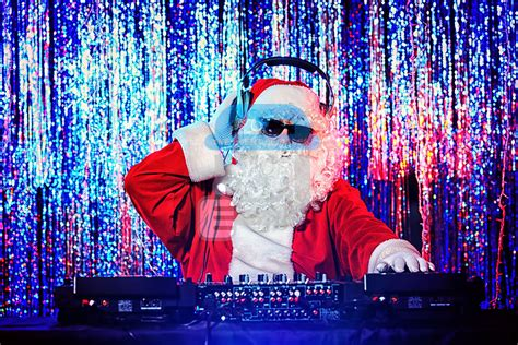 christmas party dj disco for hire in the midlands