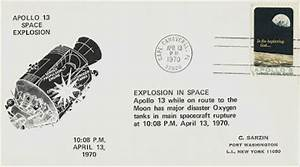 Signed Covers: USA 1970 Apollo 13