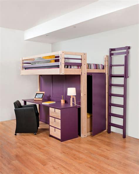 rangement bureau mezzanine beds attic mezzanine