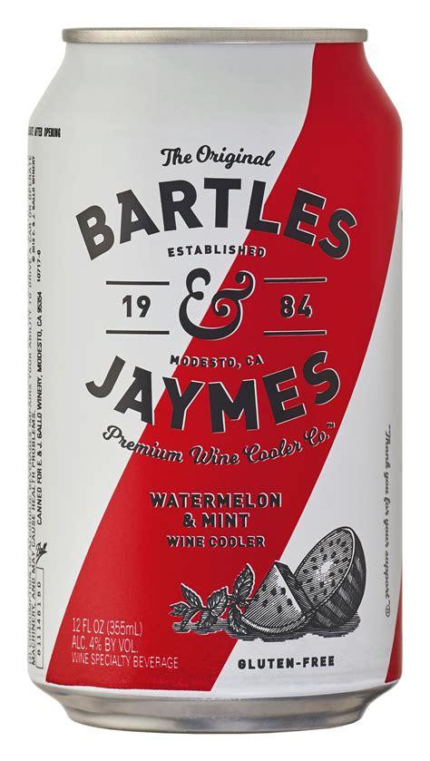 bartles jaymes watermelon mint wine cooler single  ml  walmartcom walmartcom