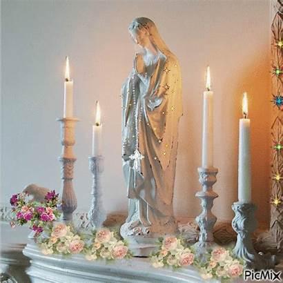 Jesus Altar Picmix Mary Catholic Mother Decoration