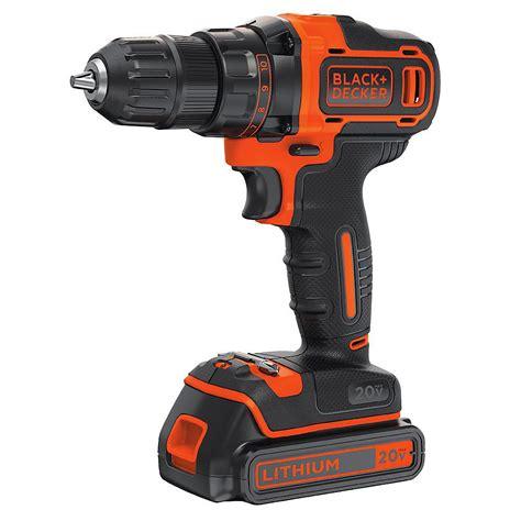 blackdecker  max lithium ion cordless   drill