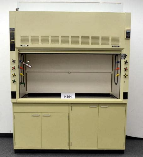 fume hood base cabinet 6 hamilton safeaire laboratory fume hood with epoxy