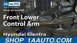 How To Install Replace Front Lower Control Arm 2001
