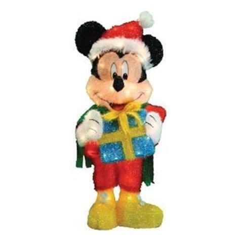 yard art  stores disney  mickey mouse wsanta