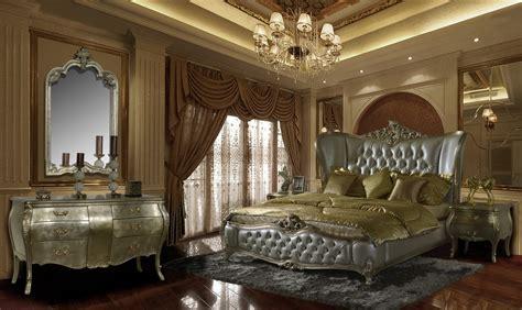 Homey Design HD 200 Royale 5 Pc Bedroom Set