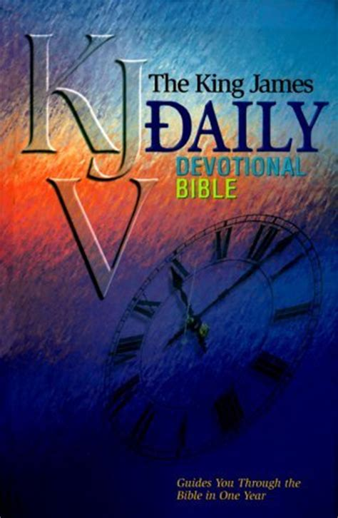 daily devotional bible king james version  anonymous