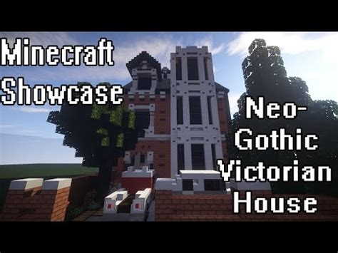 neo gothic victorian house full interior minecraft project