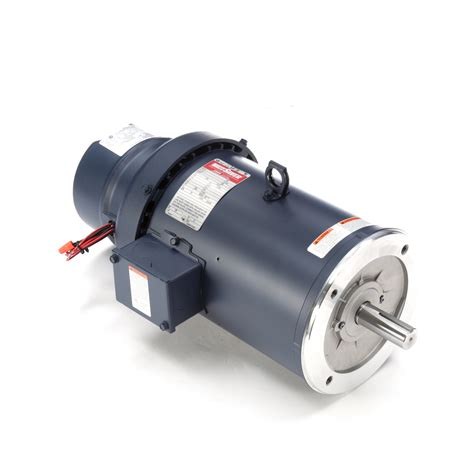 Electric Motor Catalogue by Leeson Electric 132480 00 5 Hp Brakemotor