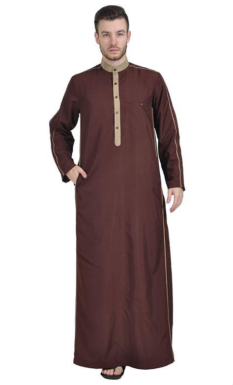 jual jubah gamis pria arab by hisan cokelat di lapak aditya shop sunindityaanggreawan