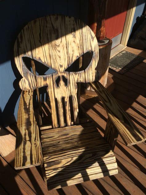 punisher chair   craftycrafty pinterest