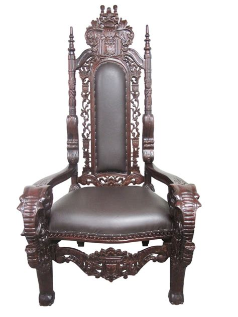 King Furniture Armchair by New High End Solid Mahogany Carved Chair
