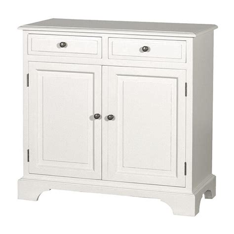 White Sideboard Cabinet by Htons Modern Buffet Sideboard Cabinet In White 2