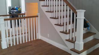 cuisine en vieux bois escalier en bois franc escalier blanc gypse escalier