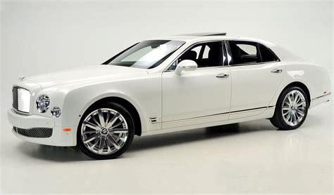 white bentley white on black bentley mulsanne mulliner for sale