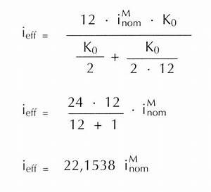 Jahreszins Berechnen Formel : effektivverzinsung wirtschaftslexikon ~ Themetempest.com Abrechnung