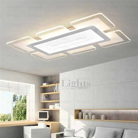 Kitchen Lighting Design Ideas - quality acrylic shade led kitchen ceiling lights