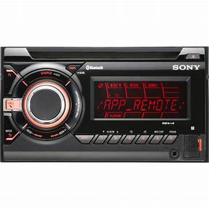 Sony WX-GT90BT Double DIN Car Stereo Radio with USB and ...