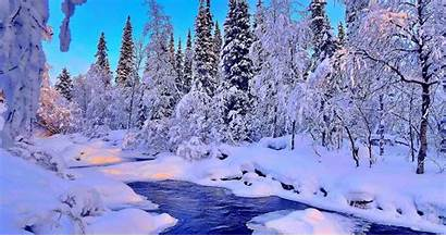 4k Winter Snow Desktop Wallpapers Ultra Trees