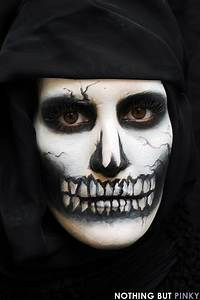 Maquillage Halloween Garçon : maquillage tete de mort maquillage pinterest ~ Melissatoandfro.com Idées de Décoration