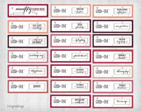 coupon book template for boyfriend the world s catalog of ideas
