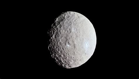 Ice Volcano Sheds Light On Ceres' Missing Mountains
