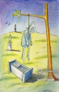 Cartoon Hanging Yourself