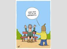 Banküberfall By luftzone Philosophy Cartoon TOONPOOL